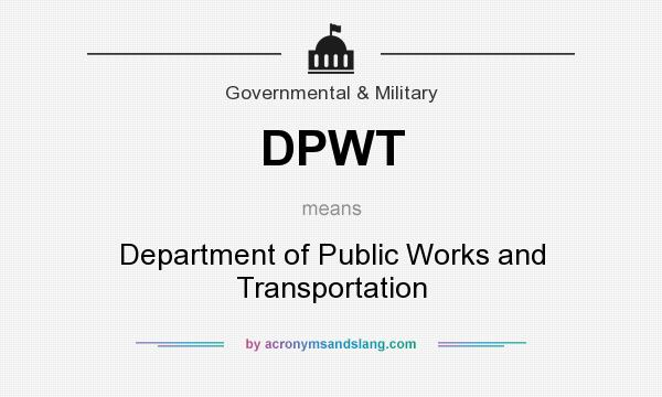 resources for dpwh