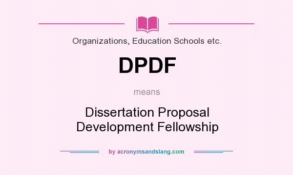 dissertation proposal development 3 developing the thesis or dissertation proposal some common problems t he general purposes and broad format of the proposal document have now been presented.