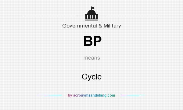 What does BP mean? It stands for Cycle