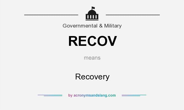 What does RECOV mean? It stands for Recovery