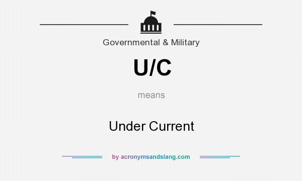 What does U/C mean? It stands for Under Current