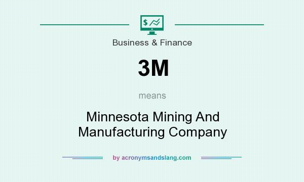 What does 3M mean? It stands for Minnesota Mining And Manufacturing Company