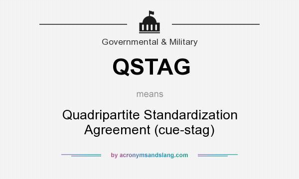 Qstag Quadripartite Standardization Agreement Cue Stag In