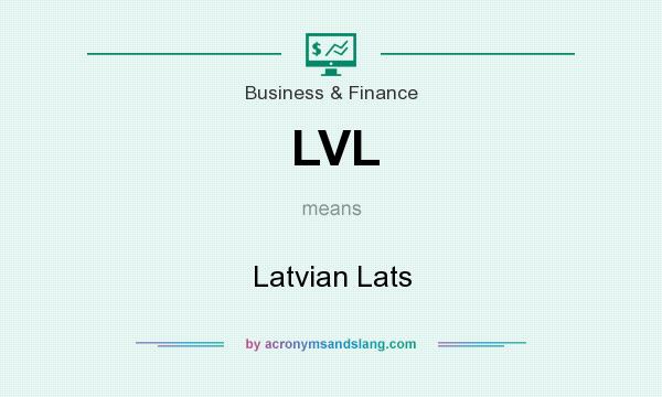 What does LVL mean? It stands for Latvian Lats