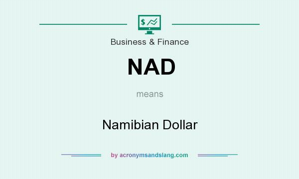 What does NAD mean? It stands for Namibian Dollar