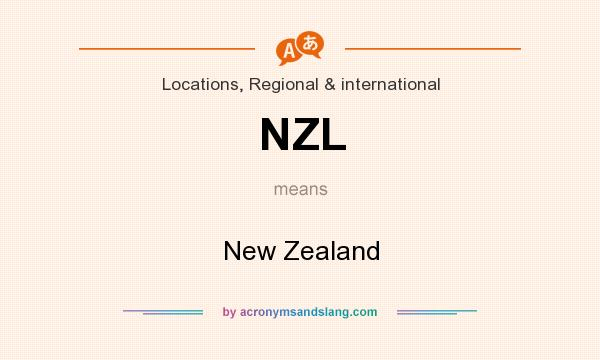 What does NZL mean? It stands for New Zealand