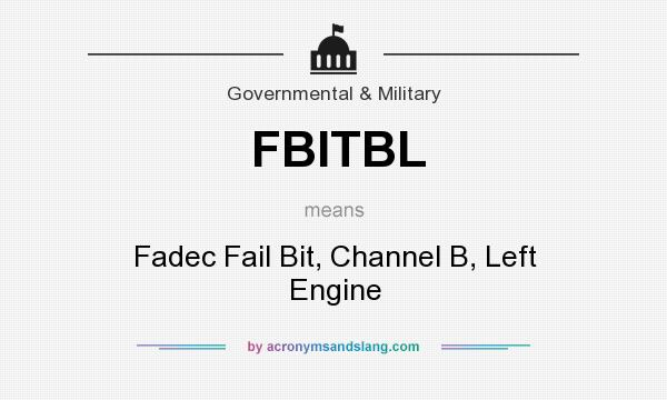 What does FBITBL mean? - Definition of FBITBL