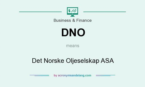 Dno det norske oljeselskap