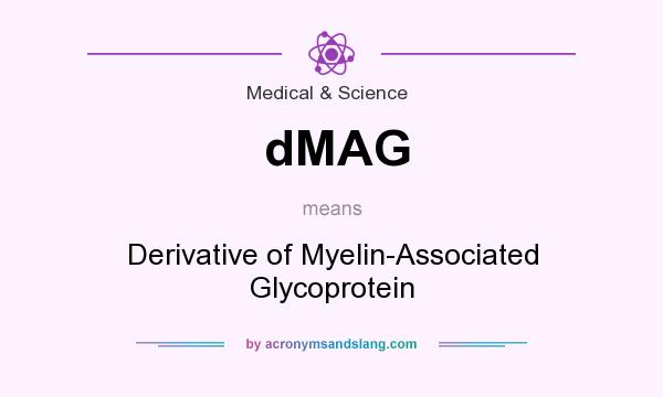 What does dMAG mean? It stands for Derivative of Myelin-Associated Glycoprotein