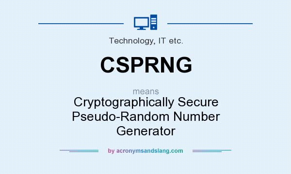 Php cryptographically secure random number generator