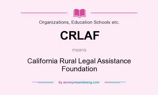 What does CRLAF mean? - Definition of CRLAF - CRLAF stands for ...
