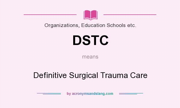 definitive surgical trauma care