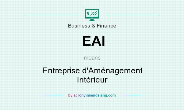 Eai entreprise d am nagement int rieur in business for Interieur meaning