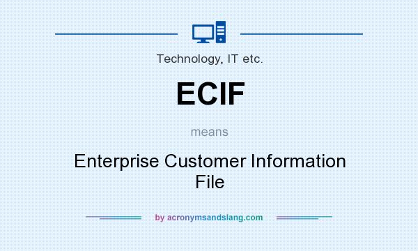 Collaborative Classroom Definition ~ Ecif enterprise customer information file in technology
