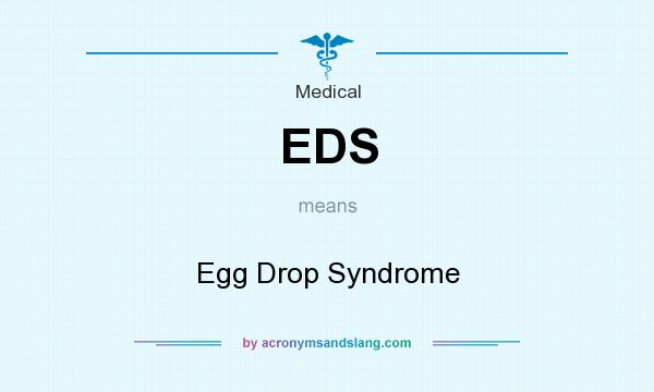 What does EDS mean? It stands for Egg Drop Syndrome