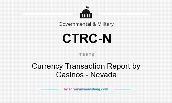 currency transaction report faq