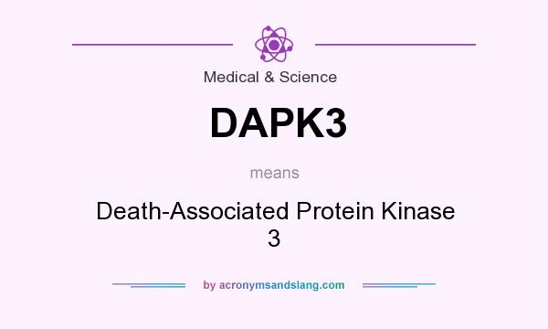 What does DAPK3 mean? It stands for Death-Associated Protein Kinase 3