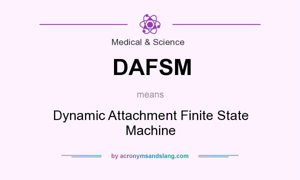 What does DAFSM mean? It stands for Dynamic Attachment Finite State Machine