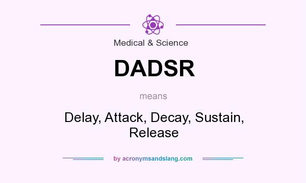 What does DADSR mean? It stands for Delay, Attack, Decay, Sustain, Release