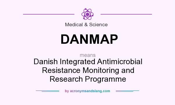 What does DANMAP mean? It stands for Danish Integrated Antimicrobial Resistance Monitoring and Research Programme