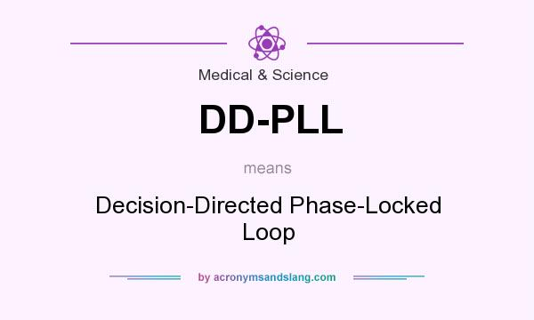 What does DD-PLL mean? It stands for Decision-Directed Phase-Locked Loop