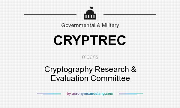 What does CRYPTREC mean? - Def...