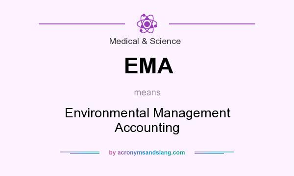 What does EMA mean? It stands for Environmental Management Accounting