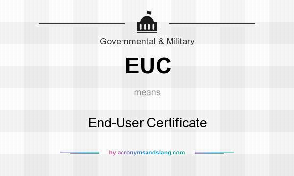 What Does Euc Mean On Facebook