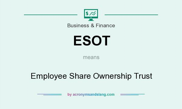 What does ESOT mean? It stands for Employee Share Ownership Trust