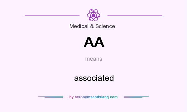 What does AA mean? It stands for associated