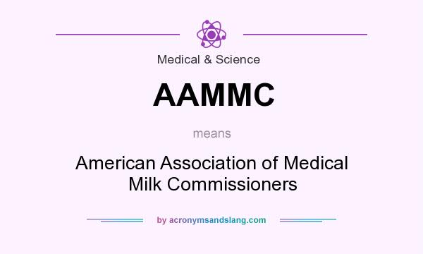 What does AAMMC mean? It stands for American Association of Medical Milk Commissioners