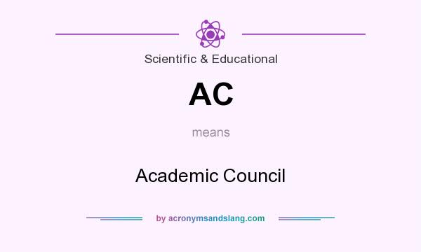 What does AC mean? It stands for Academic Council