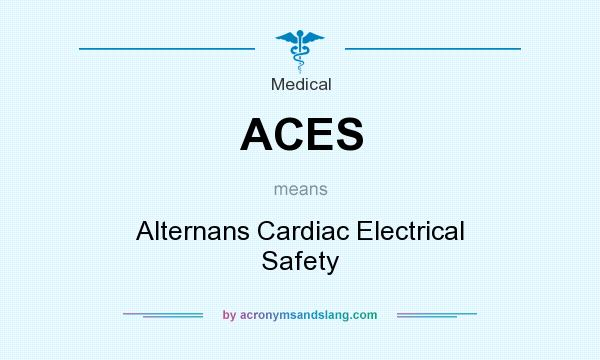 What does ACES mean? It stands for Alternans Cardiac Electrical Safety