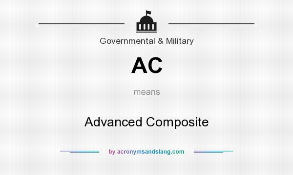 What does AC mean? It stands for Advanced Composite