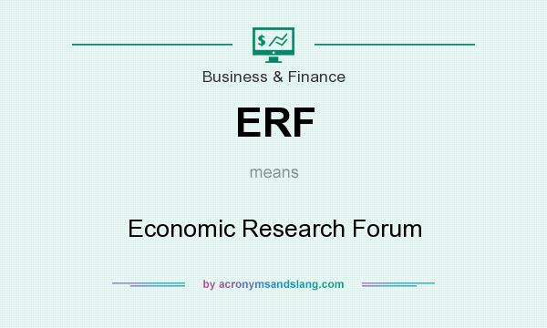 What does ERF mean? It stands for Economic Research Forum