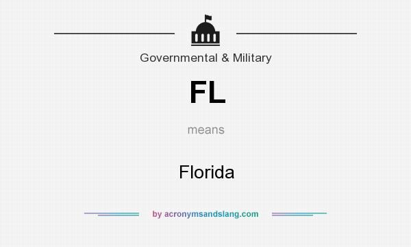What does FL mean? It stands for Florida