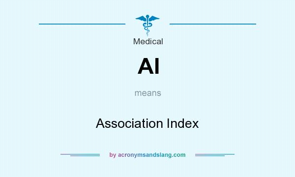 What does AI mean? It stands for Association Index