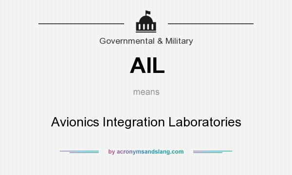 What does AIL mean? It stands for Avionics Integration Laboratories