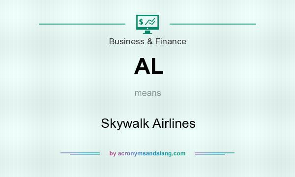 What does AL mean? It stands for Skywalk Airlines