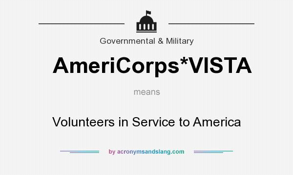 americorps vista essay First americorps vista (volunteers in service to america) members work in low-income and low-resource communities to facilitate access to first stem programs.