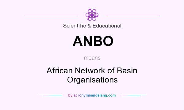 What does ANBO mean? It stands for African Network of Basin Organisations