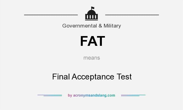 Fat acronyms