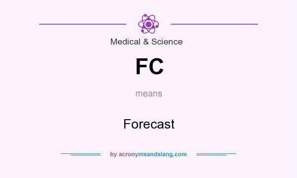 What does FC mean? It stands for Forecast