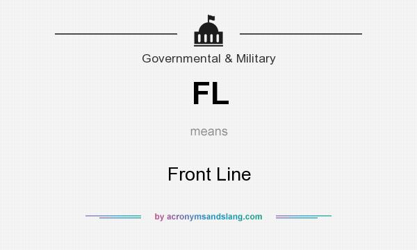 What does FL mean? It stands for Front Line