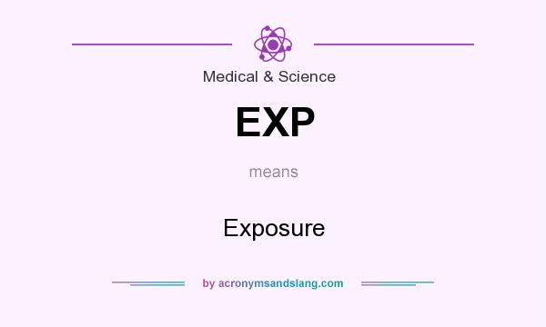 What does EXP mean? It stands for Exposure
