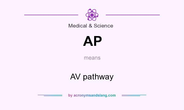 What does AP mean? It stands for AV pathway