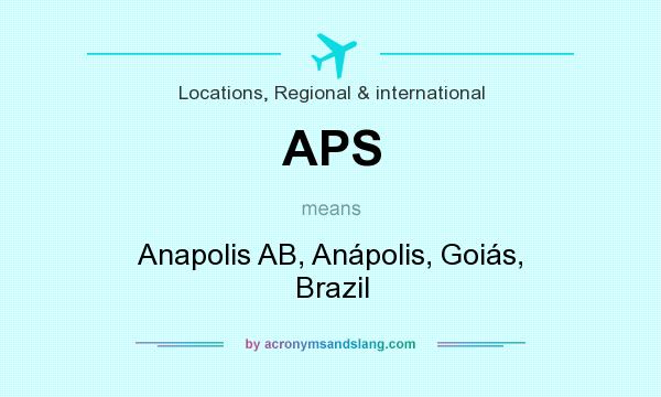What does APS mean? It stands for Anapolis AB, Anápolis, Goiás, Brazil