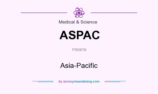 What does ASPAC mean? It stands for Asia-Pacific