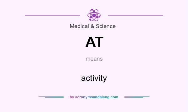 What does AT mean? It stands for activity