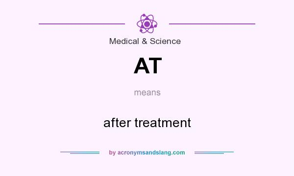 What does AT mean? It stands for after treatment